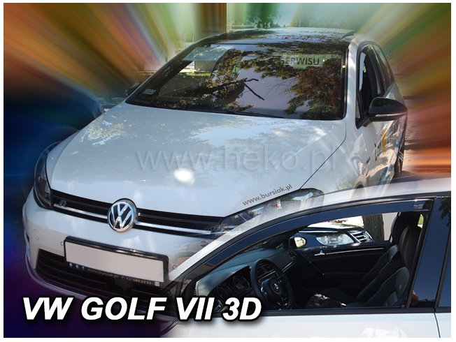 Ofuky oken VW Golf VII 3-dvéř. 2013-2017 htb
