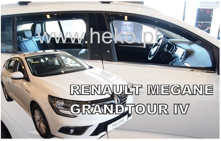 Ofuky oken Renault Megane IV 2016-2017 (+zadní) Grandtour
