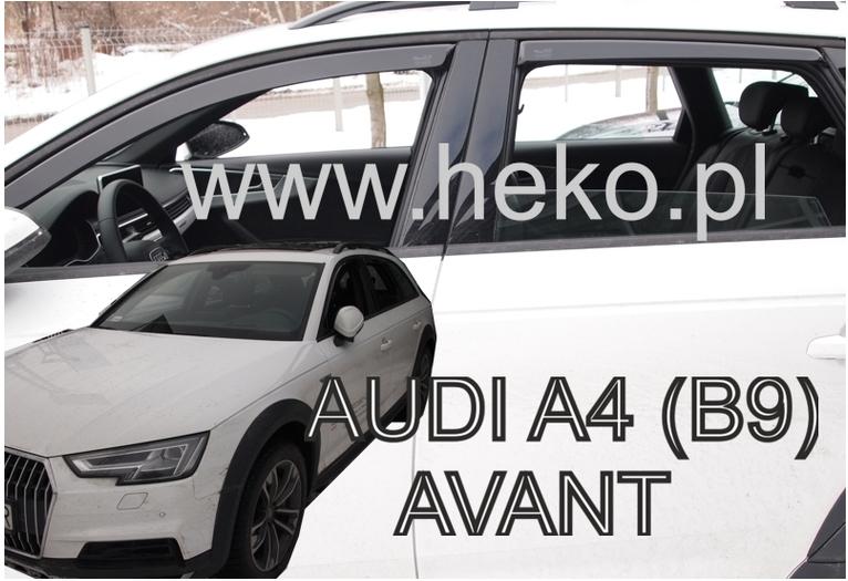 Ofuky oken Audi A4 B9 2016-2017 (+zadní) Avant/Allroad