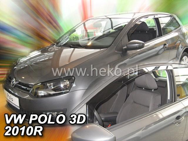 Heko Ofuky oken Volkswagen VW Polo 3D 2009- sada 2 ks