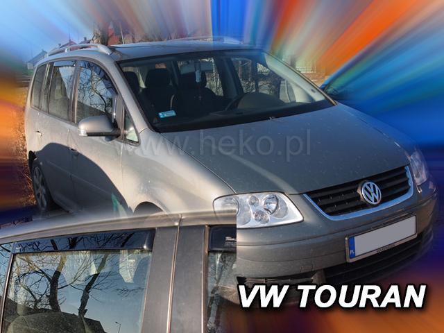 Heko Ofuky oken Volkswagen VW Touran 2003- (+zadní) sada 4 ks