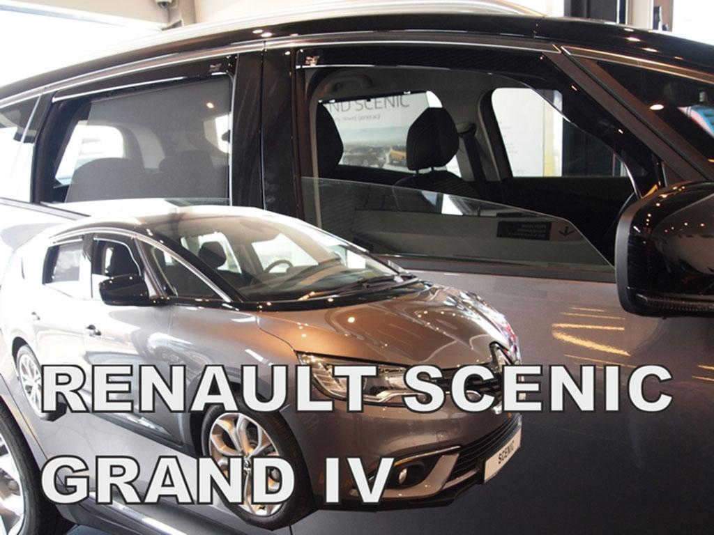Ofuky oken Renault Grand Scenic IV 2017- (+zadní)