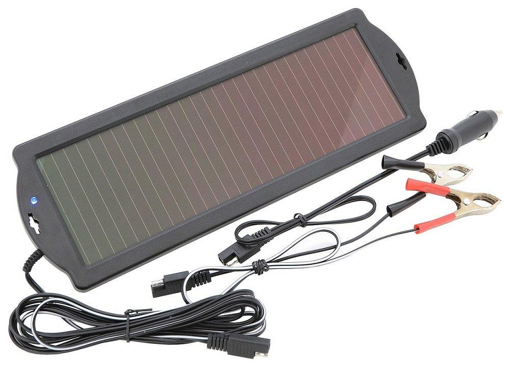 Solární nabíječka autobaterií udržovací 1,8W