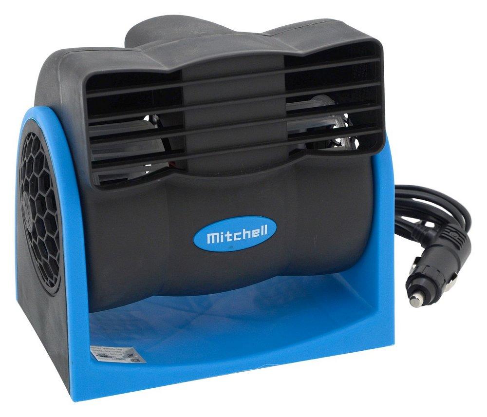 Ventilátor MITCHEL 12V na palubní desku