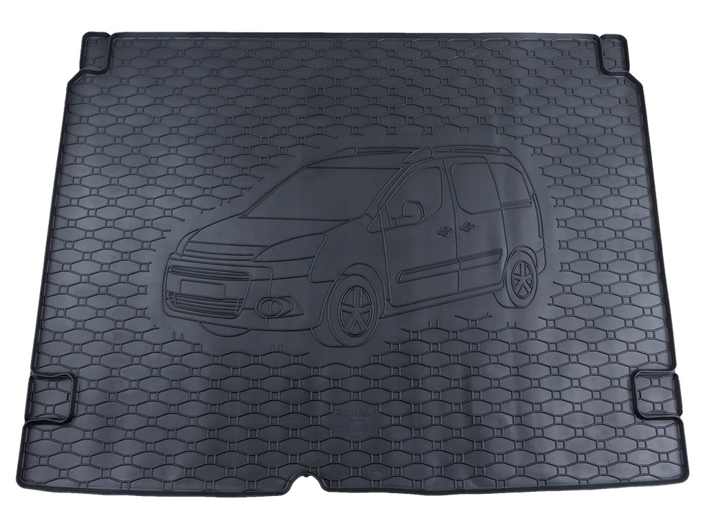Vana do kufru Peugeot Partner II 2008-2017 gumová