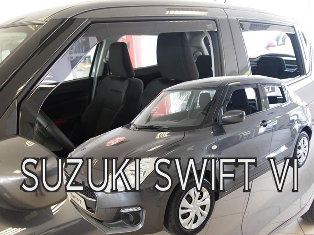 Ofuky oken Suzuki Swift VI 2017- (+zadní)