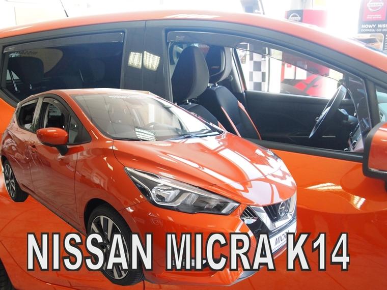 Ofuky oken Nissan Micra K14 2017- (+zadní)
