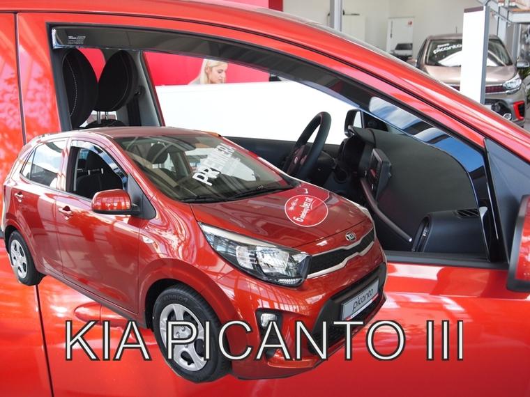 Ofuky oken KIA Picanto III 2017-