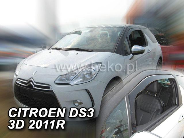 Heko Ofuky oken Citroen DS3 3D 2010- sada 2 ks