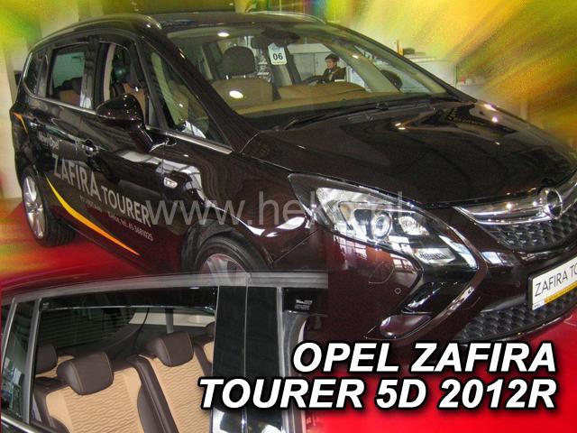 Heko Ofuky oken Opel Zafira Tourer 2012- (+zadní) sada 4 ks