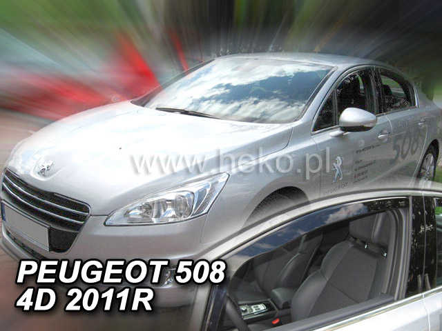 Heko Ofuky oken Peugeot 508 2011- sada 2 ks