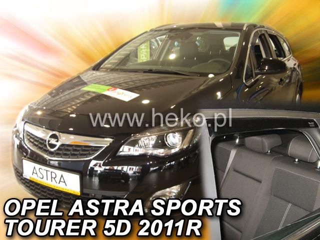 Heko Ofuky oken Opel Astra IV J 2011- (+zadní) combi sada 4 ks