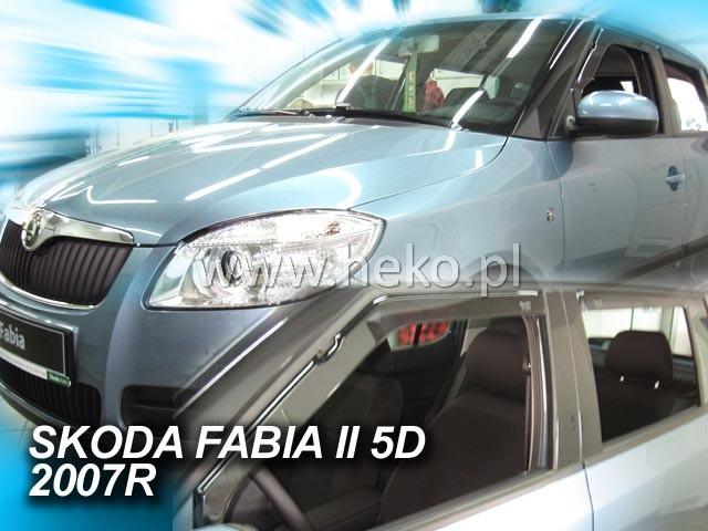 Heko Ofuky oken Škoda Fabia II 2007- sada 2 ks