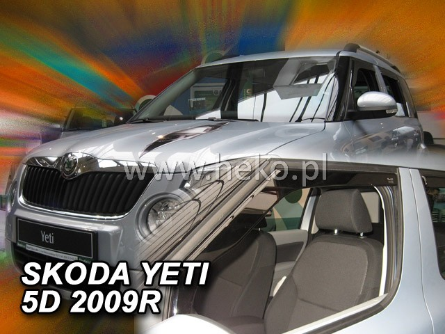 Heko Ofuky oken Škoda Yeti 2009- sada 2 ks
