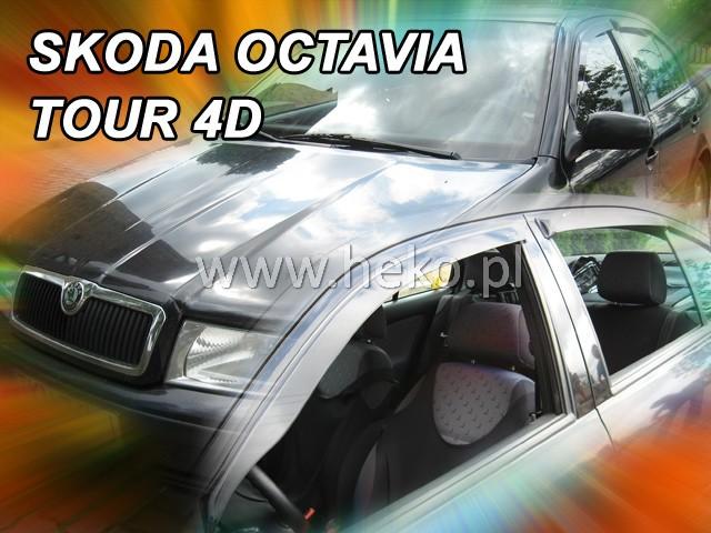 Heko Ofuky oken Škoda Octavia I 1997- sedan (+zadní) sada 4 ks
