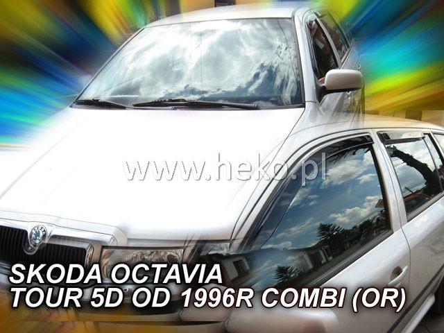 Heko Ofuky oken Škoda Octavia I 1997- combi (+zadní) sada 4 ks
