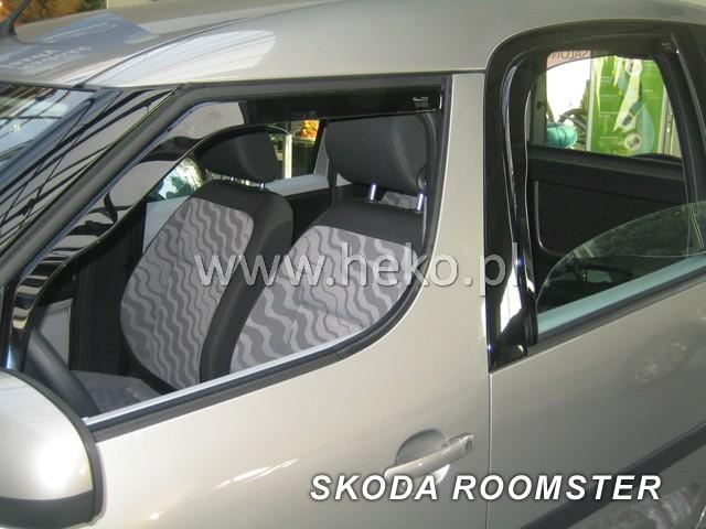 Heko Ofuky oken Škoda Roomster 2006- (+zadní) sada 4 ks