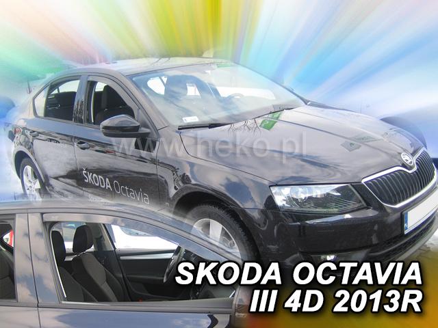 Heko Ofuky oken Škoda Octavia III 2013- sada 2 ks
