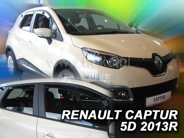 Heko Ofuky oken Renault Captur 2013- (+zadní) sada 4 ks