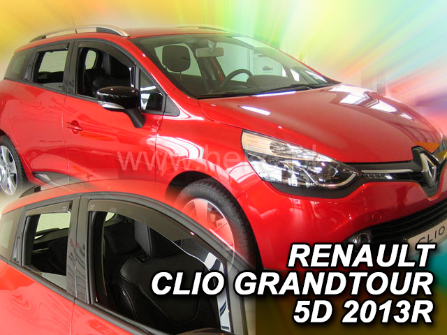 Heko Ofuky oken Renault Clio IV Grandtour 2013- (+zadní) sada 4 ks