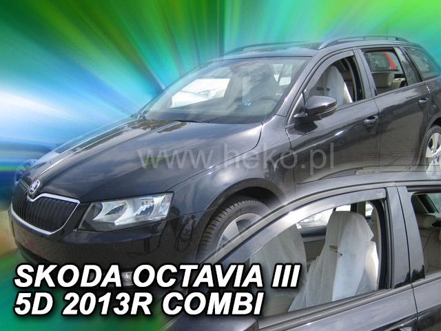 Heko Ofuky oken Škoda Octavia III 2013- combi sada 2 ks