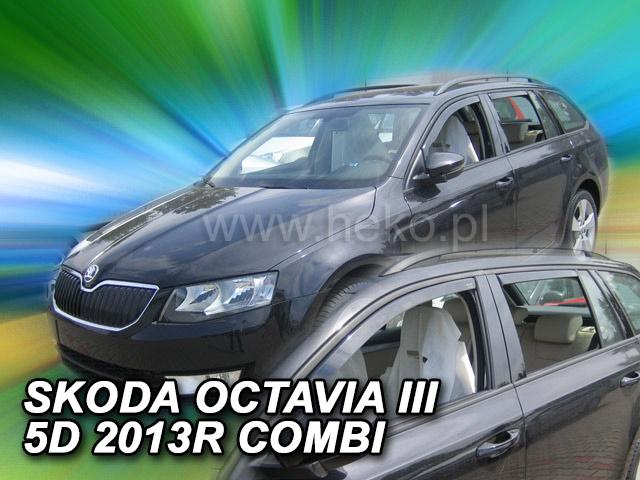 Heko Ofuky oken Škoda Octavia III 2013- combi (+zadní) sada 4 ks