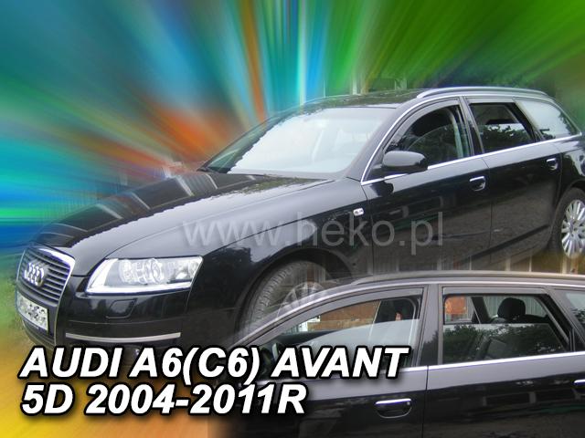 Heko Ofuky oken Audi A6 2004- (+zadní) avant sada 4 ks