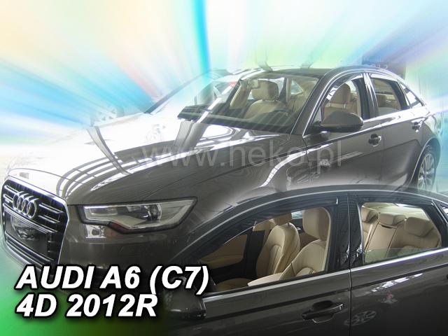 Heko Ofuky oken Audi A6 2011- (+zadní) sed sada 4 ks