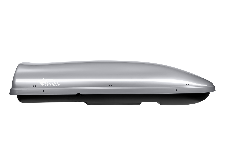 Střešní box Whale 200 Neumann stříbrný lesklý