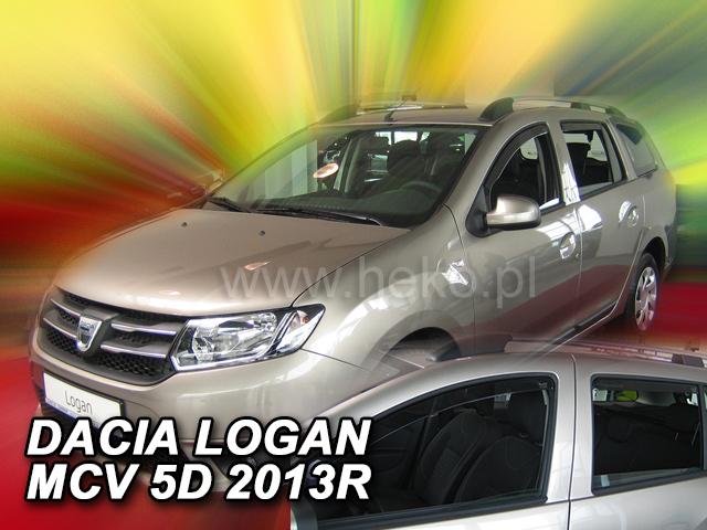 Heko Ofuky oken Dacia Logan MCV II 5d 2013- (+zadní) sada 4 ks