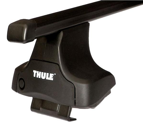 Střešní nosiče(příčníky) Thule 754+čtyřhranné tyče 762+kit